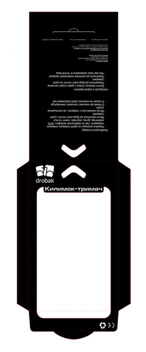 Упаковка для автомобильных ковриков держателей Drobak