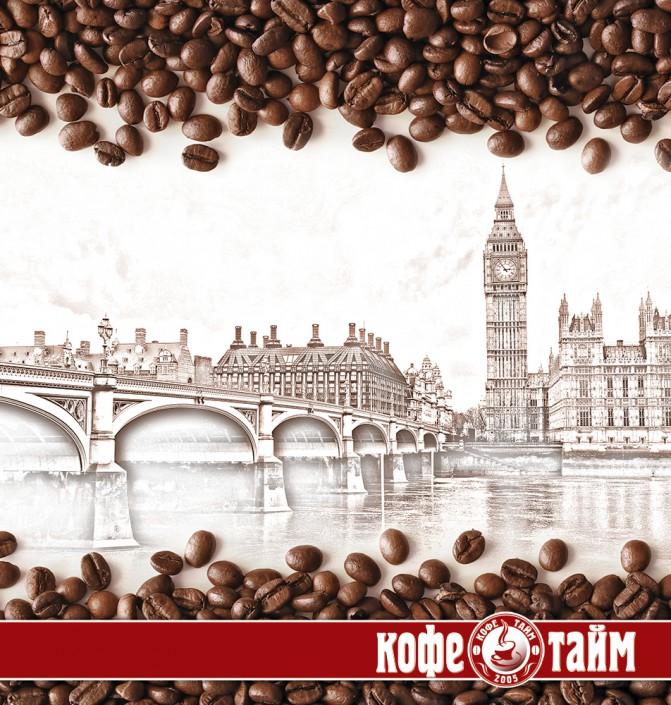 Пречек для сети ресторанов `Кофе Тайм`
