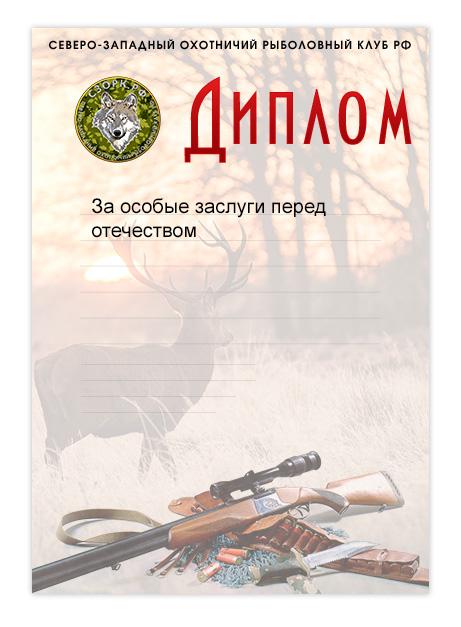 Диплом для СЗОРК.РФ