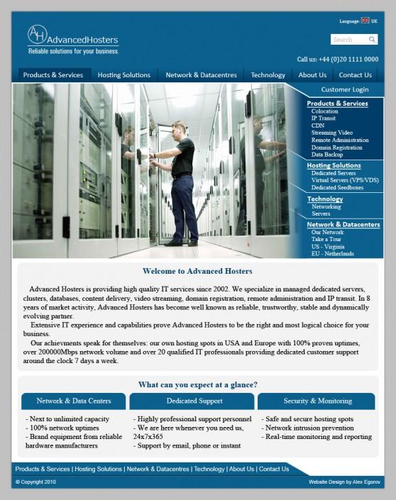 HTML + CSS (сайт под ключ)